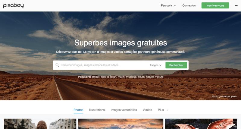 Pixabay banque images gratuites libres de droit