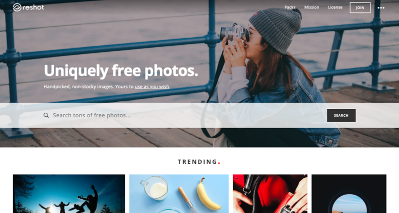 Reshot banque images gratuites libres de droit