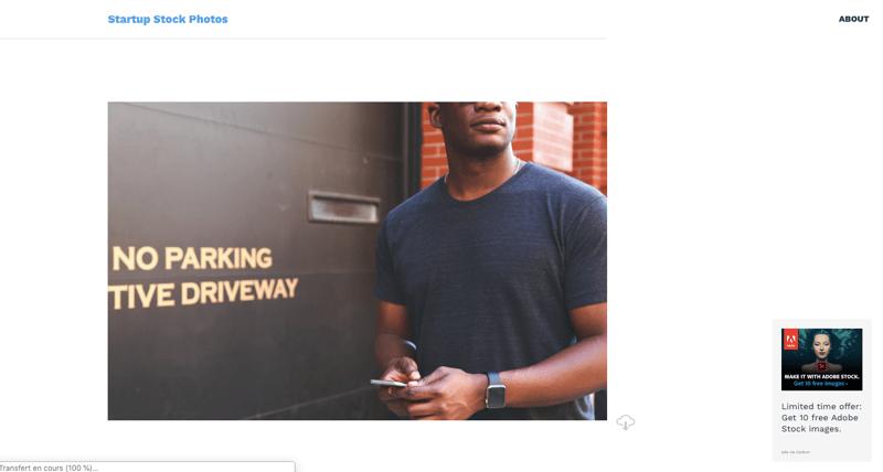 StartupStock banque images