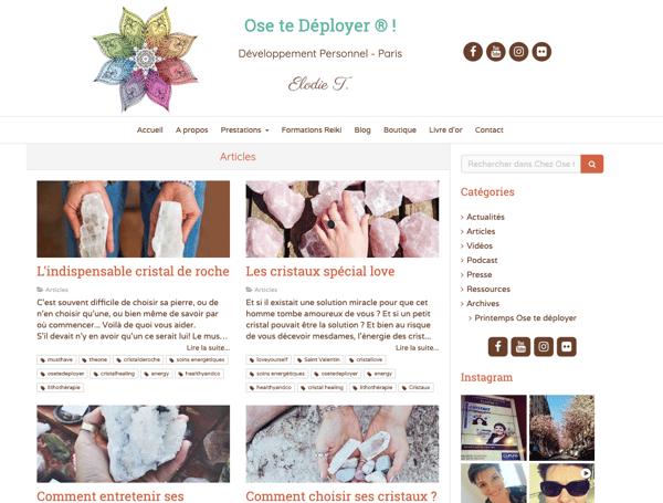 blog pour visibilité sur Internet