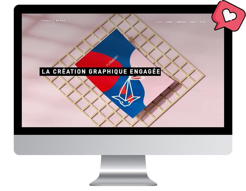 Image Site internet coup de coeur Simplébo Studio maiss