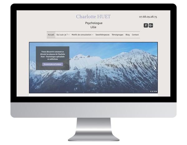 Charlotte Huet exemples sites internet psychologue
