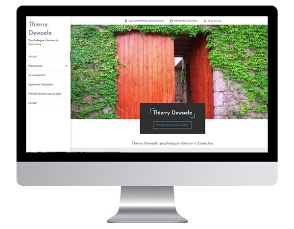 Thierry Dewaele exemples sites internet psychologue