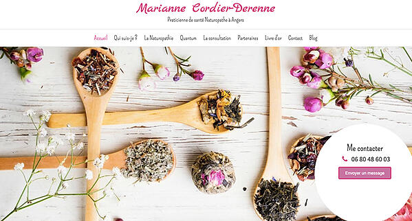 marianne cordier derenne site internet naturopathe