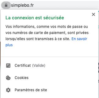 capture concevoir site web professionnel en HTTPS