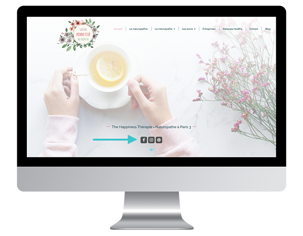 exemple site internet vitrine naturopathe