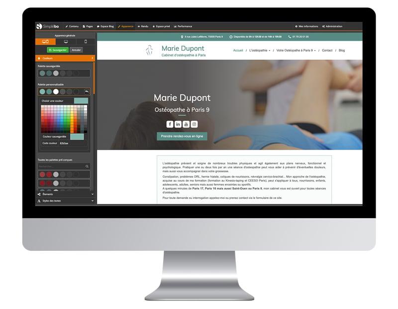 capture couleurs améliorer site internet