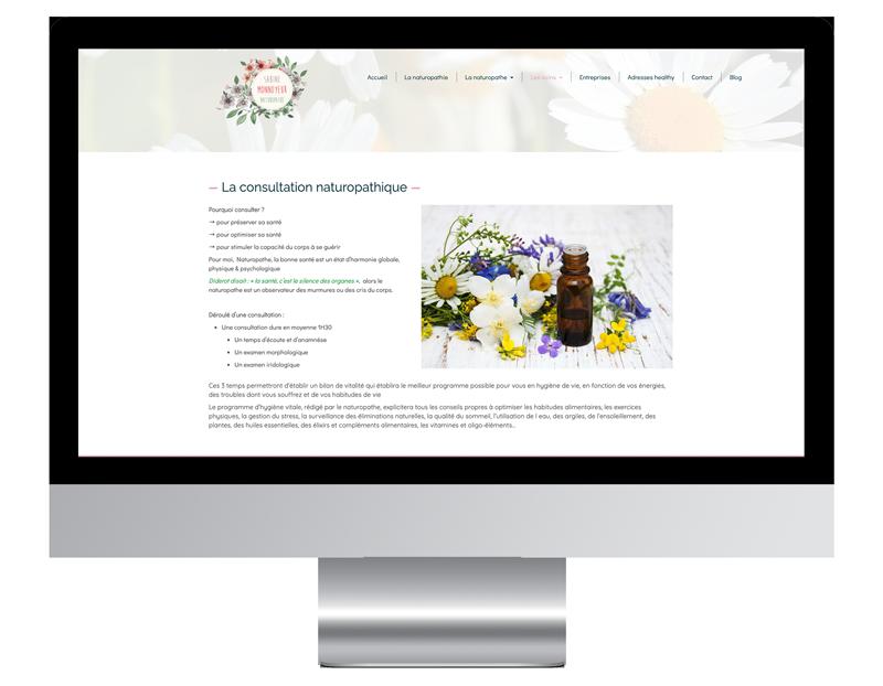 Exemple page prestation site web bouche oreille