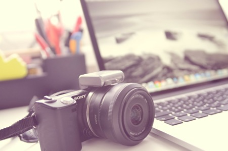 Image appareil photo site ecommerce