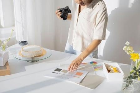 Prise de photo produits ecommerce