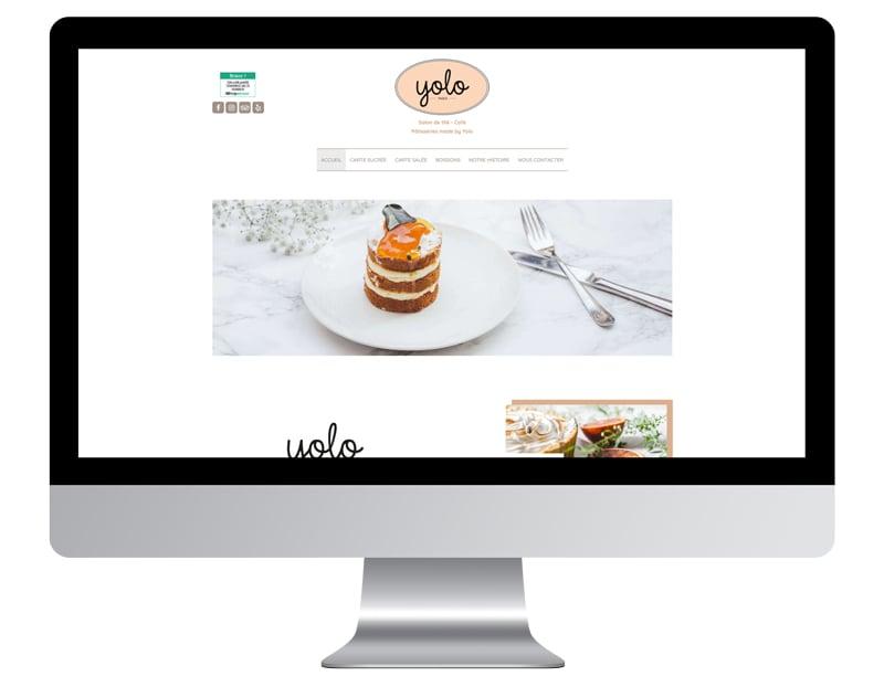 Yolo exemple site internet restaurant bien référencé