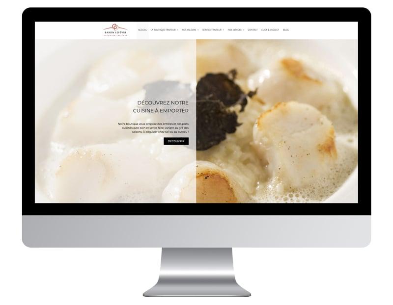 Lefevre site internet de restaurant bien référencé