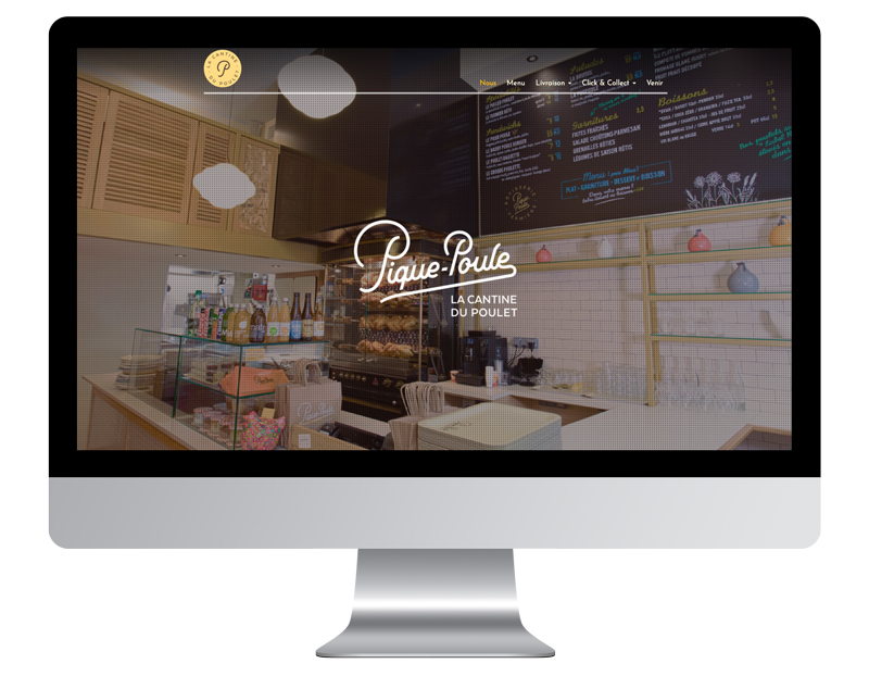 Exemple pique poule meilleur site internet restaurant