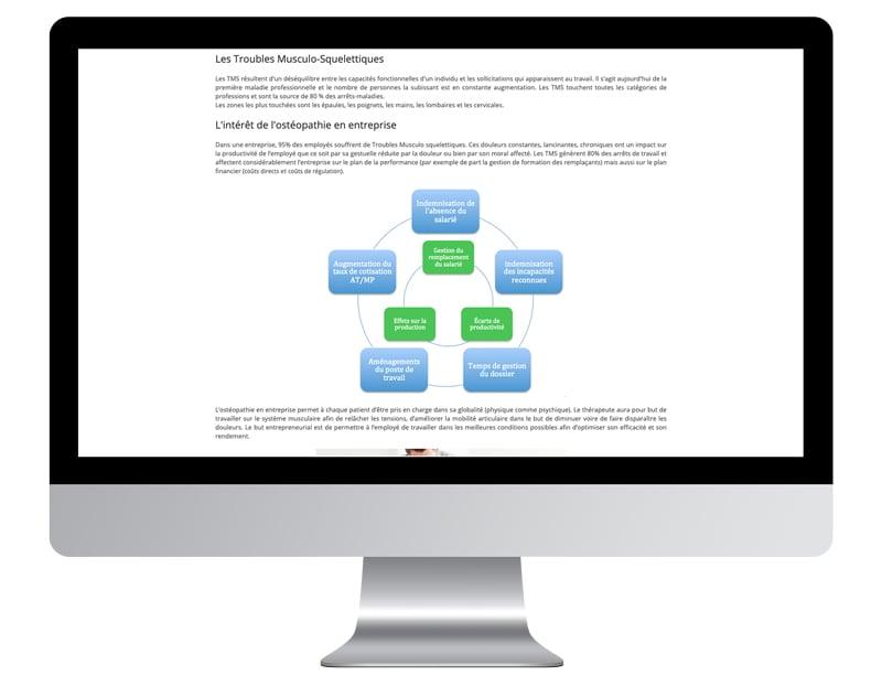 Schema illustration améliorer site internet