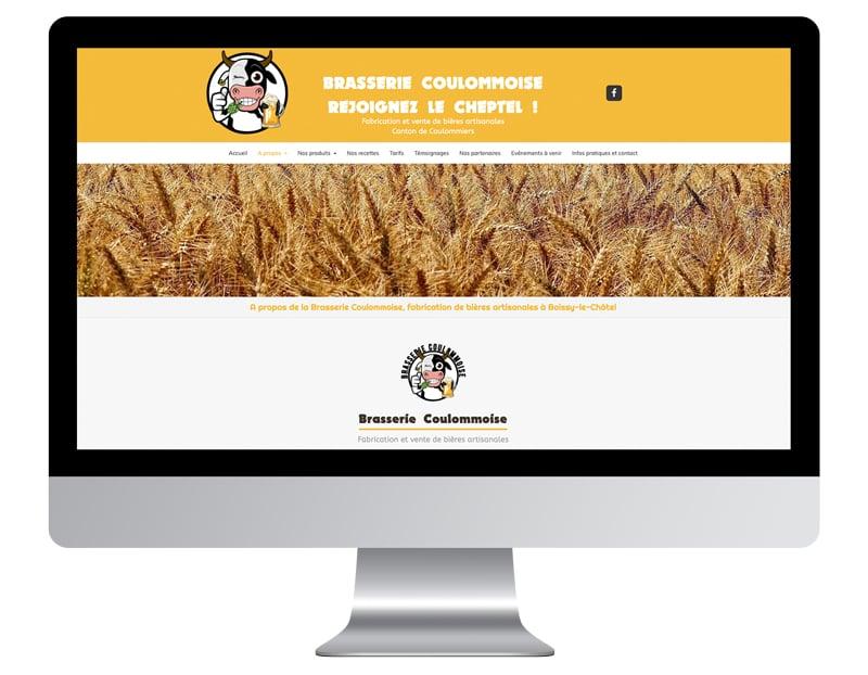 brasserie exemple site autoentrepreneur