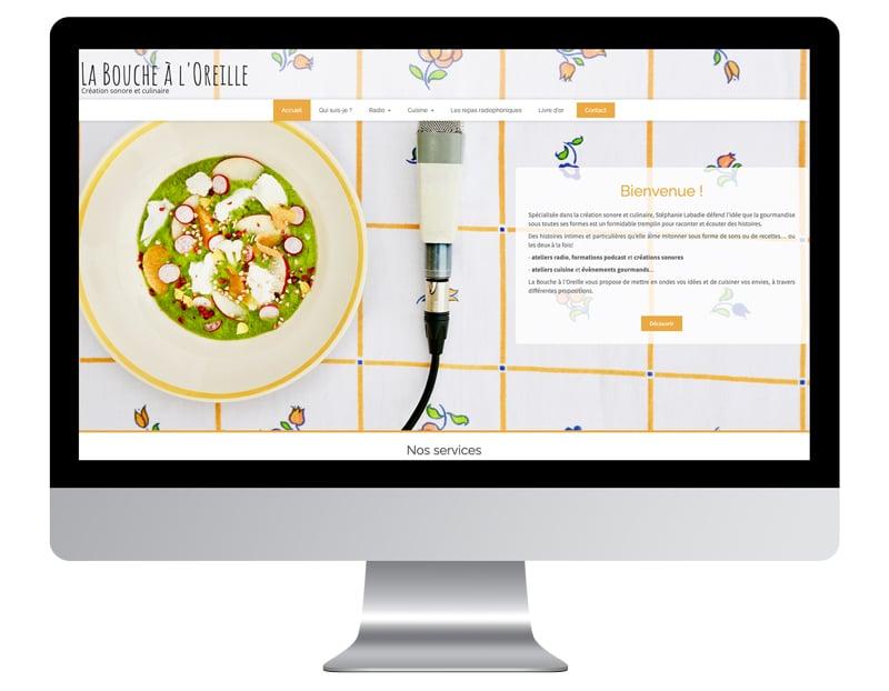 exemple site internet autoentrepreneur bouche oreille