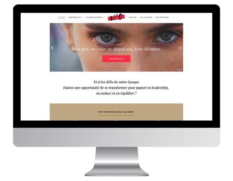 Image ordinateur V/O exemple meilleur site internet de coach