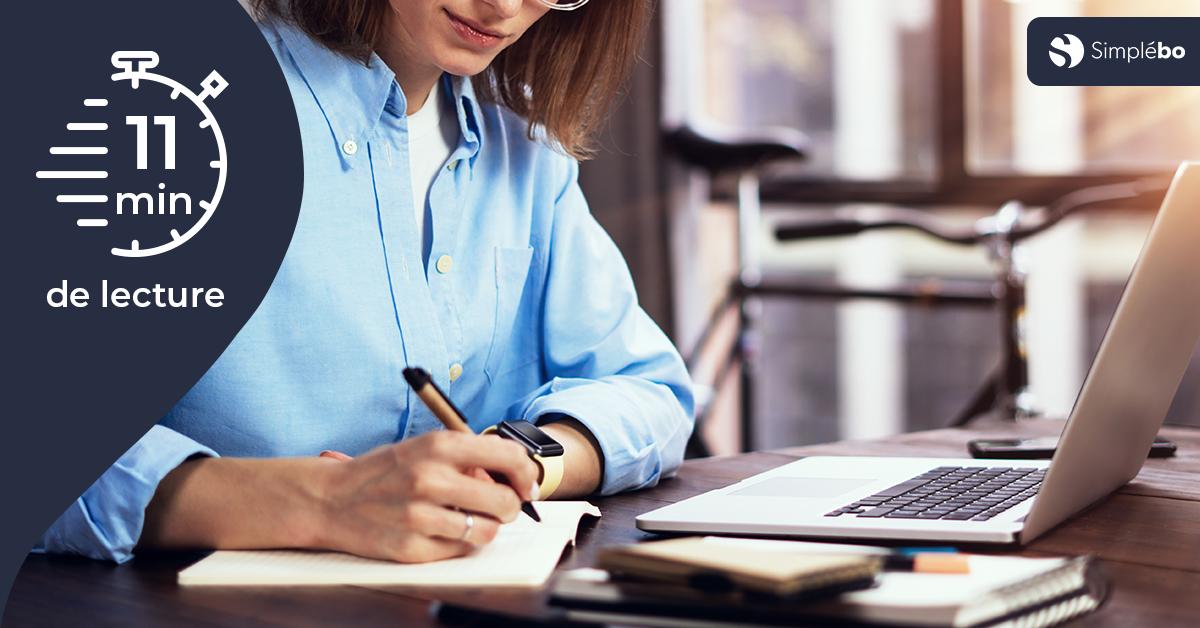 Une article comment développer votre activité grâce à des articles de blog