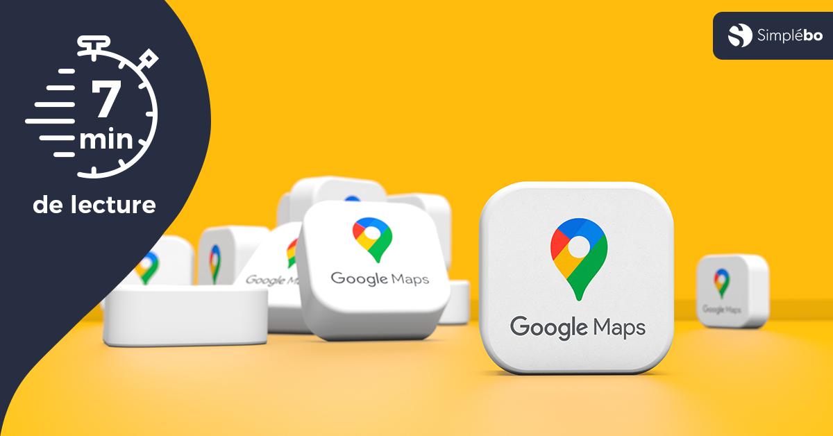 Image article comment apparaître sur google maps