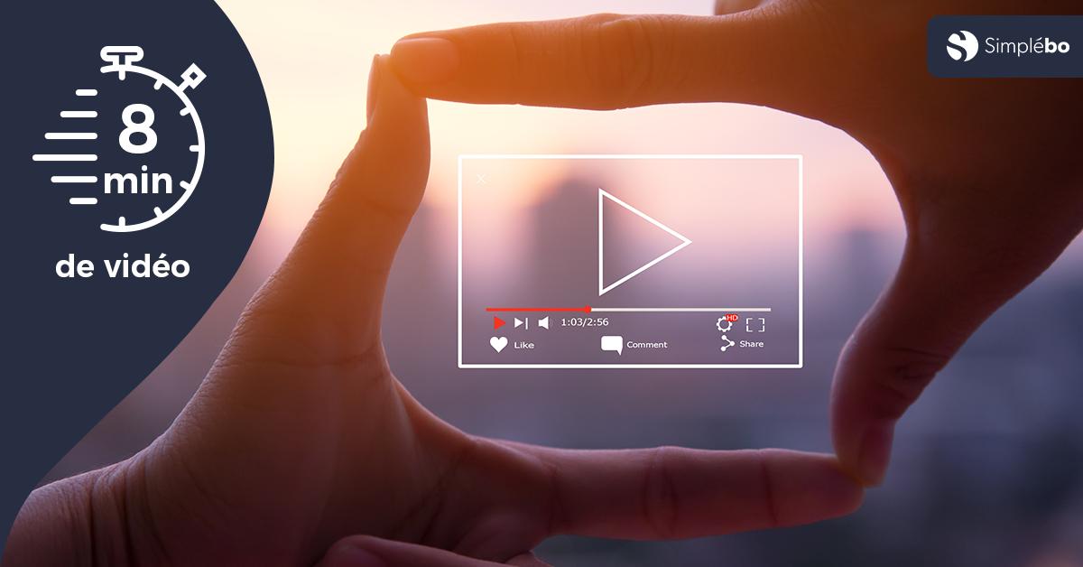 Image transcription vidéo pages indispensables sur un site web