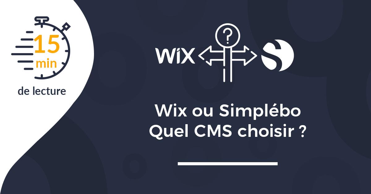 Wix ou Simplébo : quelle solution de création de site choisir ?