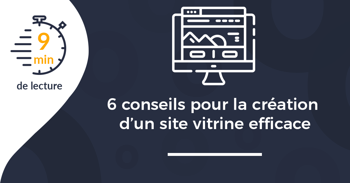 couverture conseils creation site internet vitrine