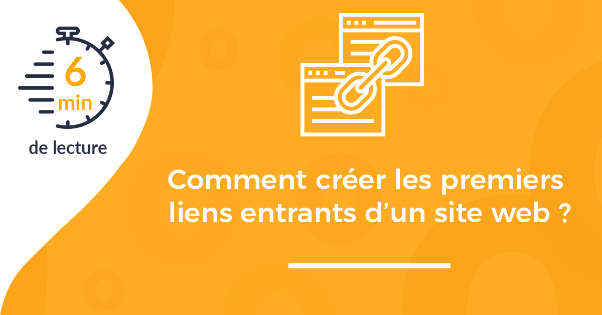 couverture comment creer liens entrants site web