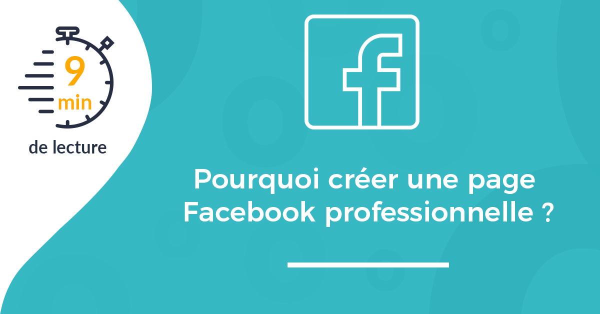 couverture pourquoi creer page facebook professionnelle