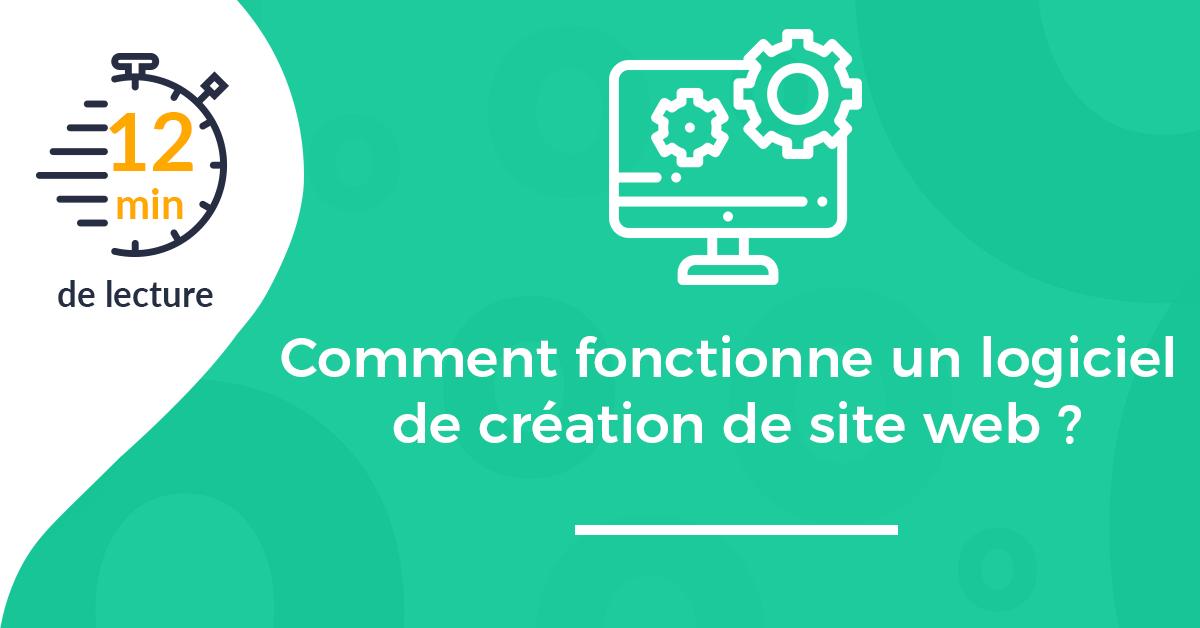 Comment fonctionne un logiciel de création de site web (CMS)?