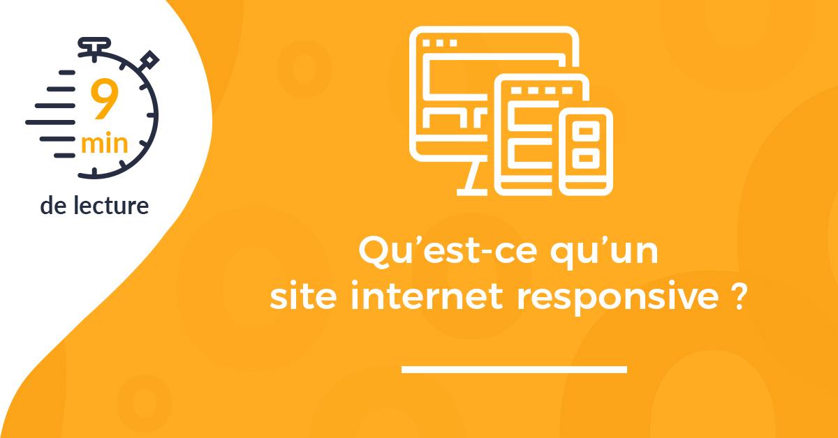 couverture qu'est ce qu'un site internet responsive design