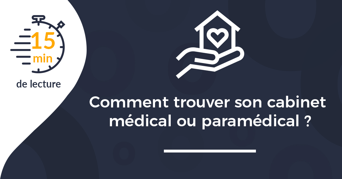 vignette trouver cabinet medical paramedical